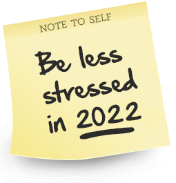Feel Less Stressed 2019